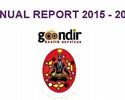 Goondir Health Services 2015 - 2016 Annual Report